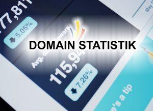 domain statistik - beliebte Domains